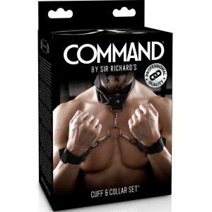 SIR RICHARDS COMMAND SET DE ALGEMAS COM COLARINHOIN